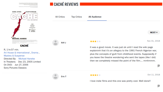 Screenshot_2019-10-14 Caché - Movie Reviews